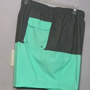 "Above the knee 8"" inseam swim shorts"